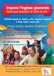 MIGLIARINO: Corso per bambini di età 6-10 @ Istituto Duchi Salviati
