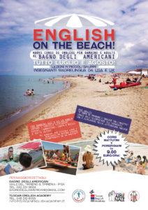 NEW: 'English on the Beach': Nuovi corsi di inglese per adulti e bambini al BAGNO DEGLI AMERICANI!!!