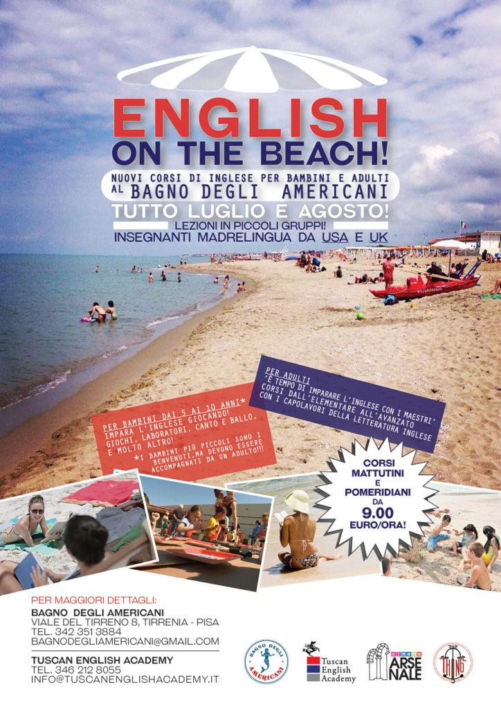 New english on the beach nuovi corsi di inglese per adulti e bambini al bagno degli - Bagno degli americani tirrenia ...