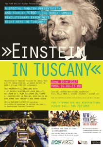 NEW: 'Einstein in Tuscany' – The English Event of the Year!