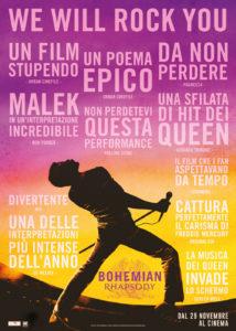 NUOVO A PISA dal 13.02.2019 – 5 Corsi di inglese basati sul 'Bohemian Rhapsody'