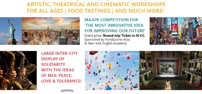 NEW: 'Utopia, Italy – A new festival for courageous dreamers' March 29- April 10, 2018!