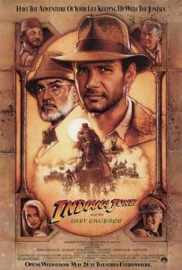 PISA (Cinema): Free Private English Screening and Party - 'INDIANA JONES and the Last Crusade' @ New York English Academy