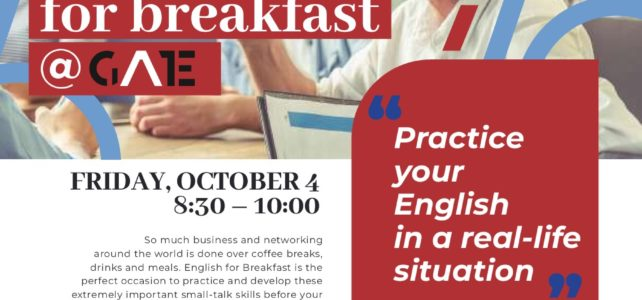 'English for Breakfast @ GATE'